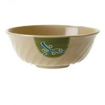 GET Enterprises M-606-TD Japanese Traditional Fluted Bowl 24 oz.- 1 doz