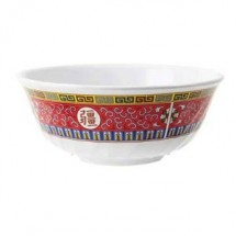 GET Enterprises M-607-L Longevity Melamine Fluted Bowl 1 Qt. - 1 doz