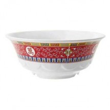 GET Enterprises M-808-L Longevity Melamine Wave Bowl 1.6 Qt. - 1 doz