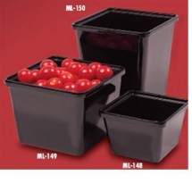 GET Enterprises ML-150 Square Crock 3 Qt. - 1/2 doz
