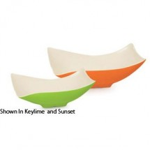 GET Enterprises ML-219-KL Keywest Keylime Flare Melamine Bowl 1.9 Qt. - 3 pcs