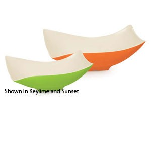 GET Enterprises ML-220-SE Keywest Seabreeze Flare Melamine Bowl 4 Qt. - 3 pcs
