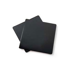 GET Enterprises ML-228-BK Black Melamine Solid False Bottom for ML-150 - 1 doz