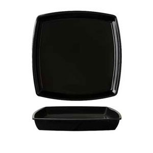 GET Enterprises ML-68-AB-BK Milano Black Square Bowl Insert For ML-68 28 oz.