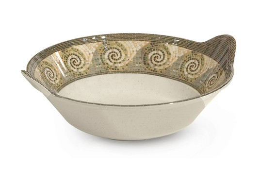 GET Enterprises ML-93-MO Mosaic Serving Bowl 2 Qt. - 1/2 doz