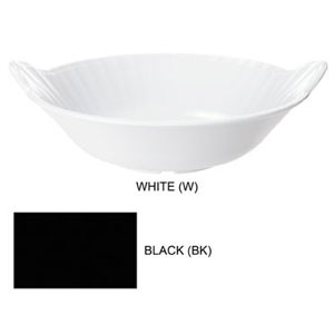 GET Enterprises ML-94-BK Siciliano Black Melamine Bowl 3 Qt. - 1/2 doz