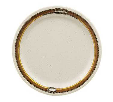 "GET Enterprises NP-9-RD Diamond Rodeo Narrow Rim Plate 9"" - 2 doz"