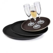 "GET Enterprises NS-1100 Round Serving Tray 11"" - 1 doz"