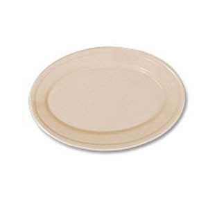 "GET Enterprises OP-911-T SuperMel Tan Oval Platter 9-1/4"" x 6-1/4"" - 2 doz"