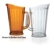 GET Enterprises P-1064-1 SAN Plastic Beer Pitcher 60 oz. - 1 doz