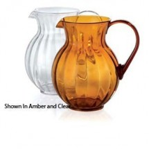 GET Enterprises P-4090-PC Polycarbonate Tahiti Pitcher 90 oz. - 1 doz
