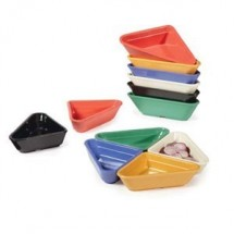 GET Enterprise  RM-201  2 oz. Triangle Ramekin - 4 doz