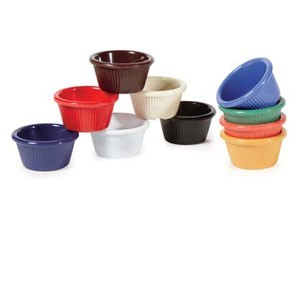 GET Enterprises RM-387 Fluted Ramekin 2 oz. - 4 doz