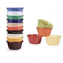 GET Enterprise  RM-388-MIX Diamond Mardi Gras Mix 3 oz. Ramekin - 4 doz