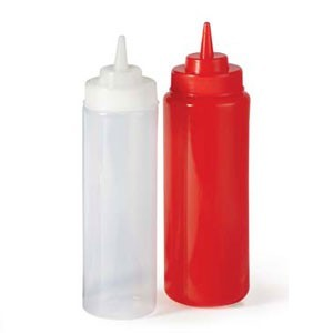 GET Enterprise  SB-32 32 oz.  Wide Mouth Squeeze Bottle - 2 doz