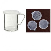 GET Enterprise  SC-180 GET Enterprises SC-180 Dredge with Three Lids 8 oz. - 2 doz