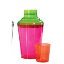 GET Enterprise  SH-175-NEON 17.5 oz., 3 PC-Shaker Set - 2 doz