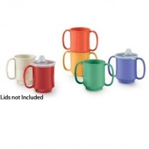 GET Enterprises SN-103 Healthcare Tritan Two Handle Mug 8 oz. - 2 doz