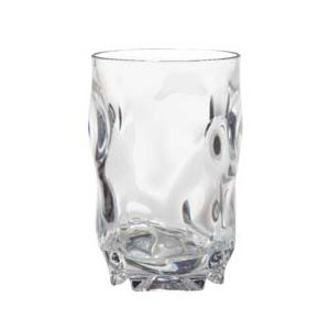 GET Enterprises SP-SW-1441-CL Clear SAN Plastic Beverage Glass 14 oz. - 4 doz