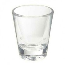 GET Enterprises SW-1409-1-CL Clear SAN Plastic Shot Glass 1.5 oz. - 2 doz