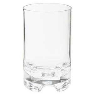 GET Enterprise SW-1424-1-SAN-CL Roc N' Roll SAN Plastic Glass 12 oz. - 2 doz
