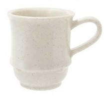 GET Enterprise  TM-1208-IR Ironstone 8 oz. Stacking Mug - 2 doz
