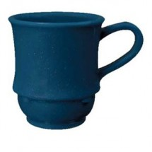GET Enterprises TM-1208-TB Texas Blue SAN Plastic Stacking Mug 8 oz. - 2 doz