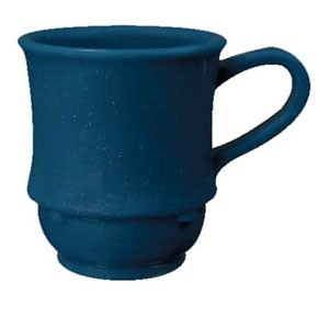 GET Enterprise  TM-1208-TB Texas Blue 8 oz. Stacking Mug - 2 doz