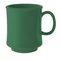 GET Enterprise  TM-1308-FG Forest Green 8 oz. Stacking Mug - 2 doz