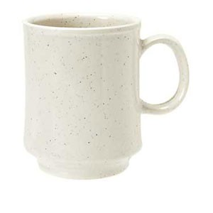GET Enterprise  TM-1308-IR Ironstone 8 oz. Stacking Mug - 2 doz