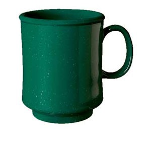 GET Enterprises TM-1308-KG Kentucky Green Stacking Mug 8 oz. - 2 doz