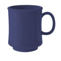 GET Enterprise  TM-1308-PB Peacock Blue 8 oz. Stacking Mug - 2 doz