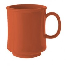 GET Enterprise  TM-1308-RO Rio Orange 8 oz.  Stacking Mug - 2 doz