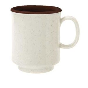 GET Enterprises TM-1308-U Ultraware Ironstone Stacking Mug 8 oz. - 2 doz