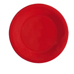 "GET Enterprises WP-10-RSP Red Sensation Wide Rim Plate 10-1/2"" - 1 doz"
