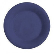 "GET Enterprises WP-12-PB Diamond Mardi Gras Peacock Blue Wide Rim Plate 12"" - 1 doz"