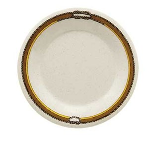 "GET Enterprises WP-12-RD Diamond Rodeo Wide Rim Plate 12"" - 1 doz"