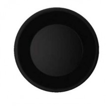 "GET Enterprises WP-7-BK Black Elegance Wide Rim Plate 7-1/2"" - 4 doz"