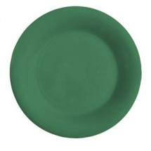 "GET Enterprises WP-7-FG Diamond Mardi Gras Rainforest Green Wide Rim Plate 7-1/2"" - 4 doz"