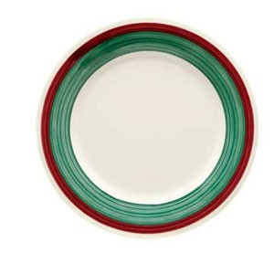 "GET Enterprises WP-7-PO Diamond Portofino Wide Rim Plate 7-1/2"" - 4 doz"
