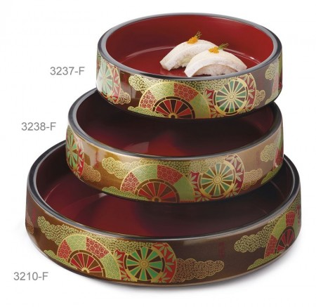 GET Enterprises 3237-F Fuji Sushi Box 8-1/4""