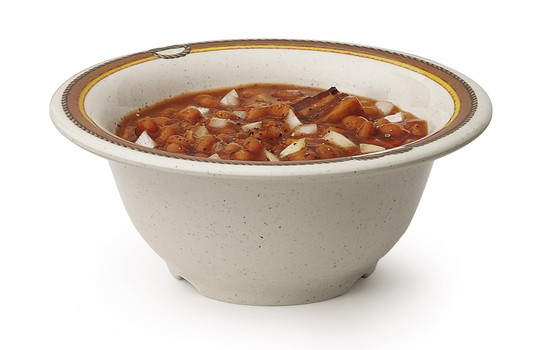 GET Enterprises B-105-RD Diamond Rodeo Melamine Bowl 10 oz. - 4 doz
