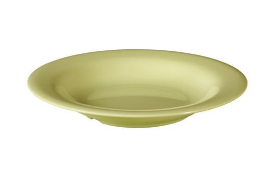 GET Enterprises B-139-AV Diamond Harvest Avocado Melamine Bowl 13 oz. - 2 doz