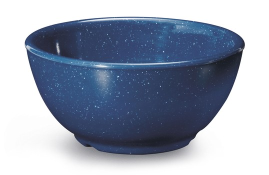 GET Enterprises B-525-TB Texas Blue Melamine Bowl 16 oz. - 2 doz
