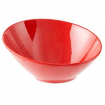 GET Enterprises B-785-RSP Red Sensation Cascading Bowl 10 oz. - 1 doz