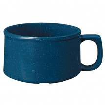 GET Enterprises BF-080-TB Texas Blue Melamine Mug 11 oz. - 2 doz