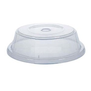 """GET Enterprises CO-102-CL Clear Plate Cover for 11.25"""" to 12"""" Round Plates - 1 doz"""