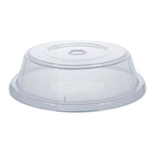 """GET Enterprises CO-92-CL Clear Plate Cover for 8.8"""" to 9.63"""" Round Plates - 1 doz"""