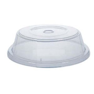 "GET Enterprises CO-95-CL Clear Plate Cover for 10.4"" to 11.15"" Round Plates - 1 doz"