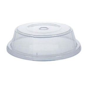 "GET Enterprises CO-96-CL Clear Plate Cover for 8"" x 11.25"" to 8.63"" x 11.94"" Oval Plates - 1 doz"
